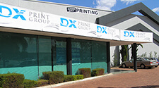 DX Print's Work Place