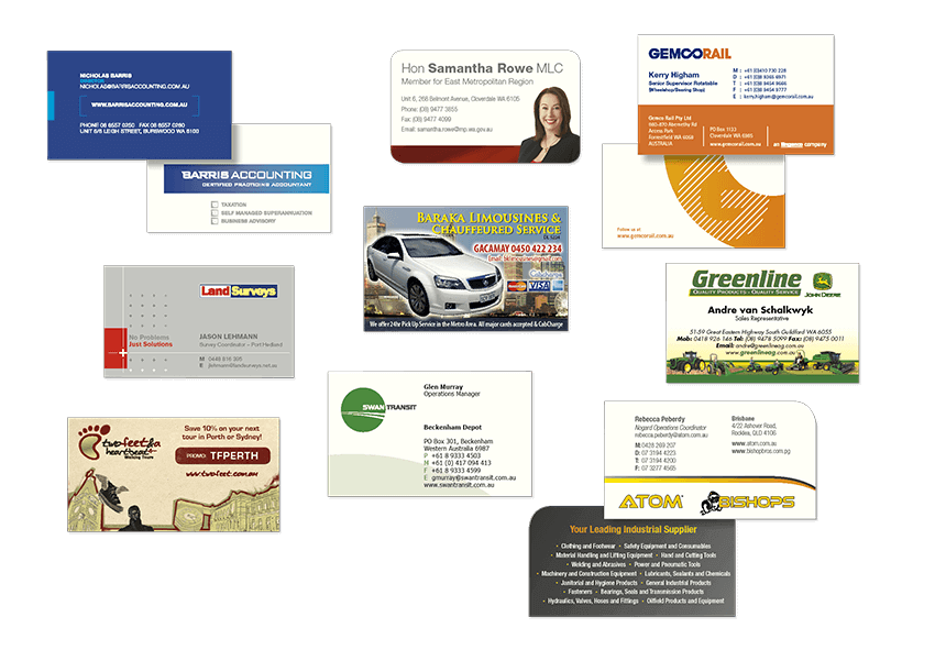 Business Cards Print and Design in Perth WA - DX Print Group